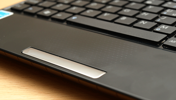 Touchpad and chiclet keyboard