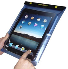Waterproof cover for the iPad