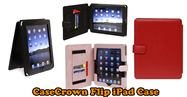 CaseCrown Flip case - horizontal or vertical