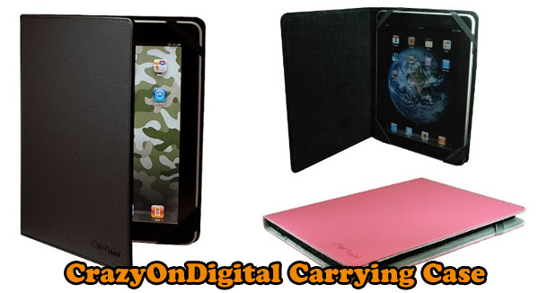 CrazyOnDigital Leather Carrying Case
