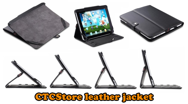 CTCStore leather jacket for iPad