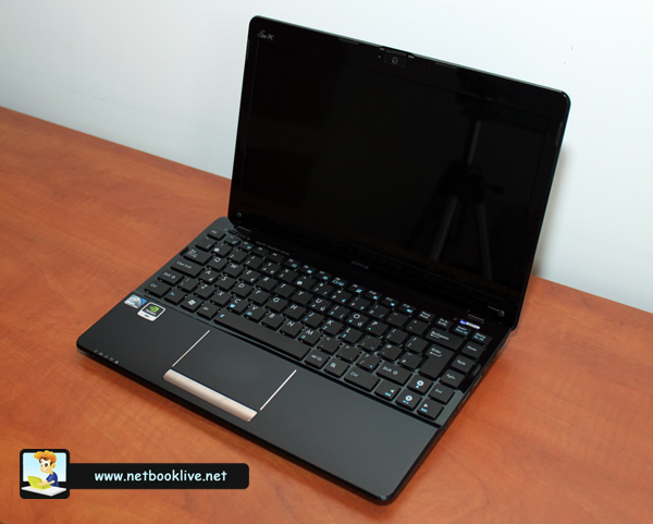 Asus 1215N mini laptop - powerful and good looking
