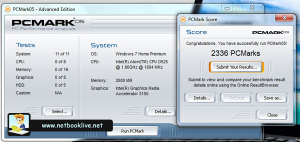 PCMark 2005
