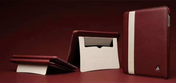Vaja iPad case - also a stand