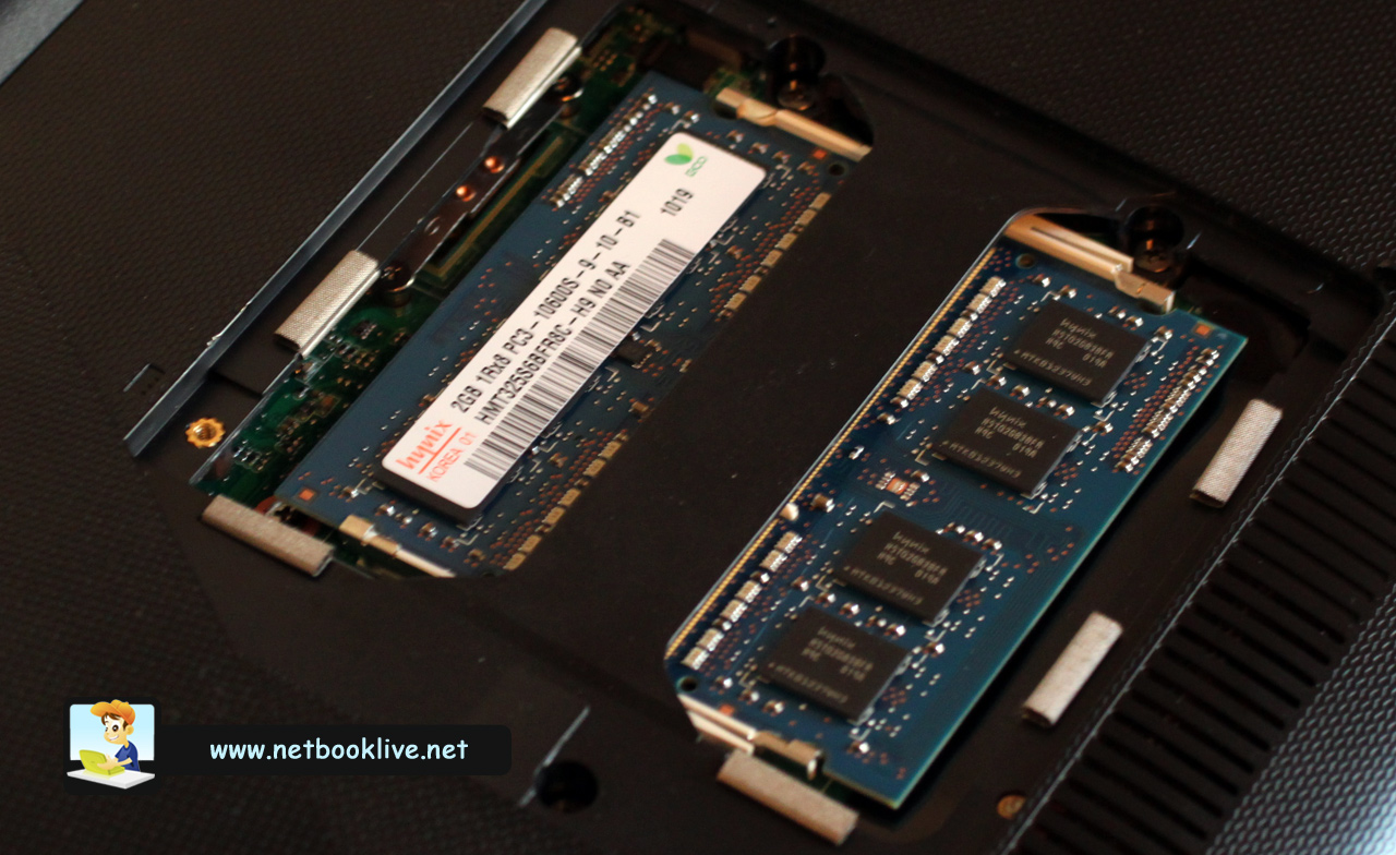 How To Upgrade Memory On The Asus 1018p And Asus 1215n