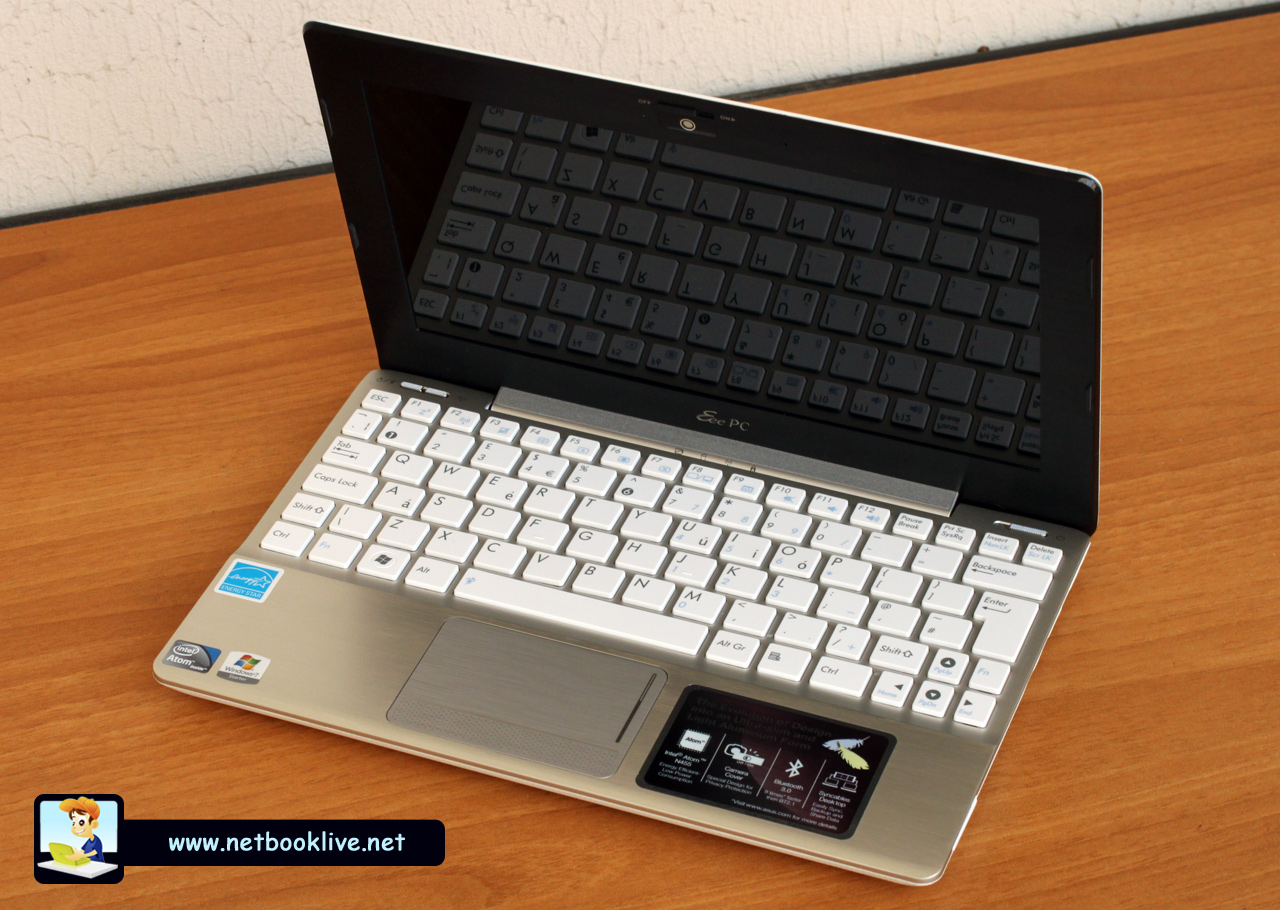 asus 1018p eee pc review white version what a mini laptop. Black Bedroom Furniture Sets. Home Design Ideas