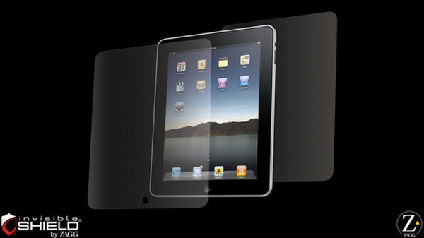 The Zagg InvisibleShield is the most popular and appreciated such screen cover for iPad