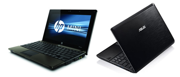 Business 10 inchers: HP Mini 5103 and Asus EEE PC 1018P