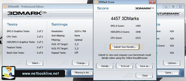 3DMark06 - 1024 x 768px - ATI chip