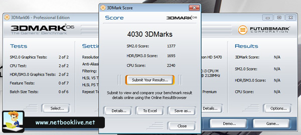 3DMark06 - 1366 x 768px - ATI chip