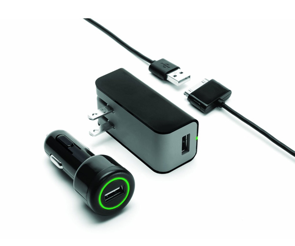 Griffin Car Charger: Griffin PowerDuo IPad Charger