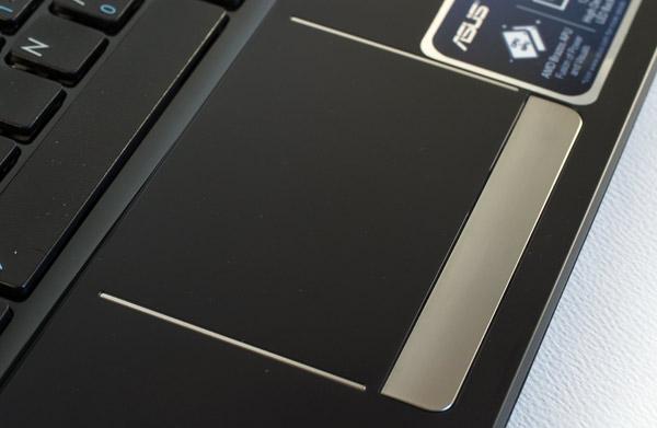 Proper sized trackpad