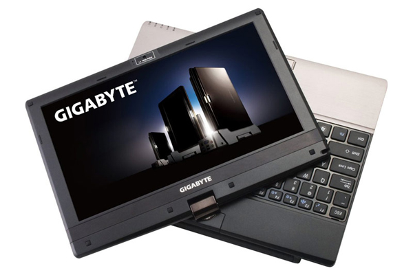 Gigabyte T1125N Notebook Cando Capacitive Touch Screen XP