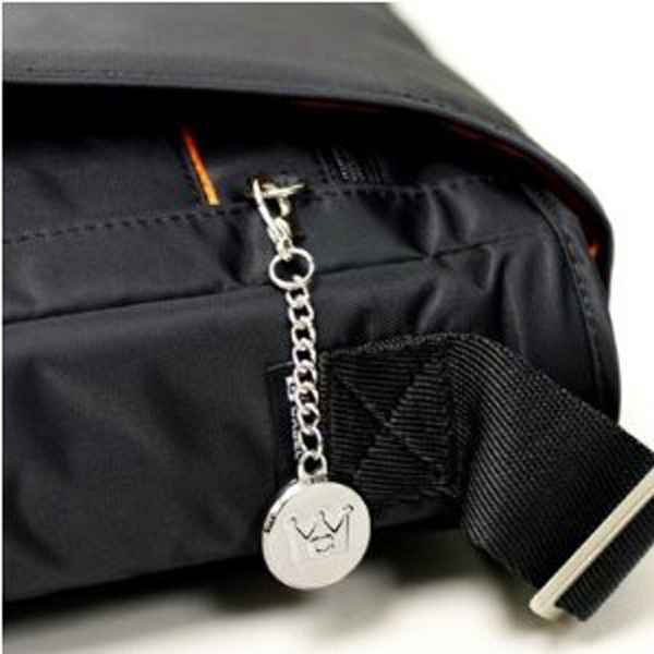 you might want to remove the big case crown logo from one of the zippers...