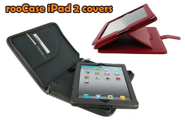 Premium leather cover from rooCase