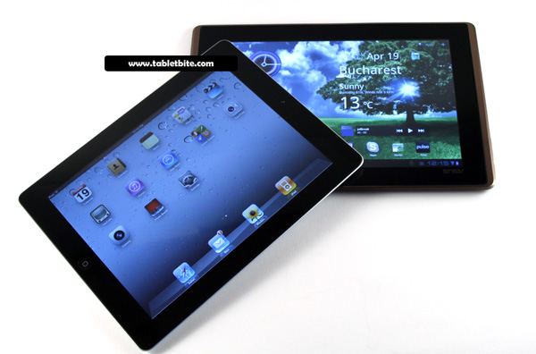 iPad 2 vs Asus Transformer