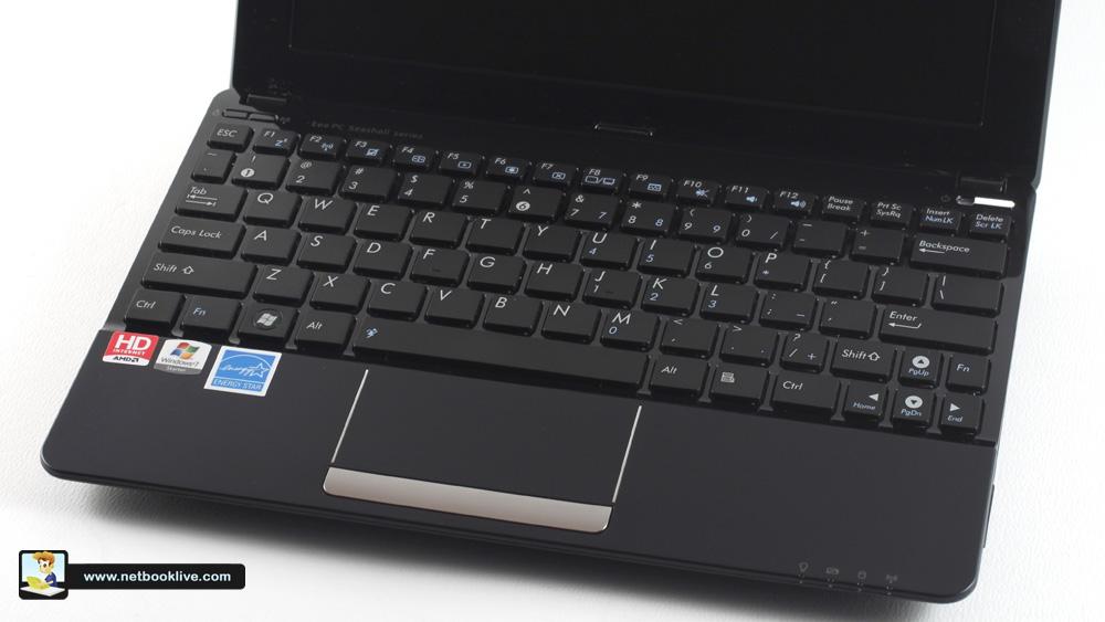 Nice keyboard and trackpad
