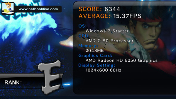 Street Figther 4 benchmark