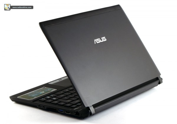 The Asus has a magnesium lid and a maximum thickness of 0.76 inches