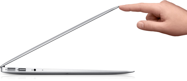 The new MBA is even thinner than its predecessor, but packs much more punch