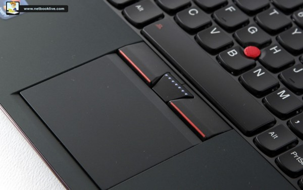 TrackPad and TrackPoint