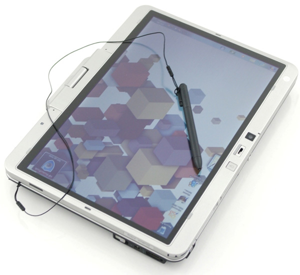 The display has a matte coating and is fairly responsive, both to touch and pen input
