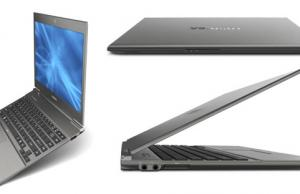 Toshiba Portege Z830 - defintiely an ultrabook on my radar now