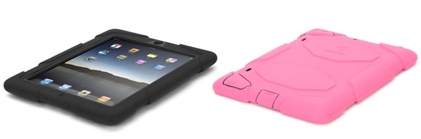 Griffin Survivor iPad 3 case - reliable, not very expensive and available in black or pink