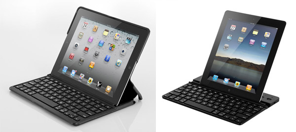 ZAGGFolio and ZAGGKeys, very popular keyboard-cases for the Apple iPads