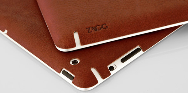 Zagg LeatherSkin - fancy leather covers for the iPads, with tens of options to choose from