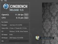 cinebench11