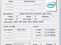 Atom D2700 Cedar Trail processor