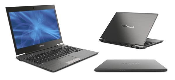 Toshiba's Portege is slim and classy- too bad it doesn't pack top hardware