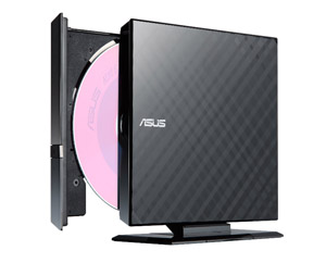A cheap external DVD drive from Asus