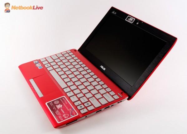 Asus 1025CE - the premium Asus 10 inch netbook in 2012