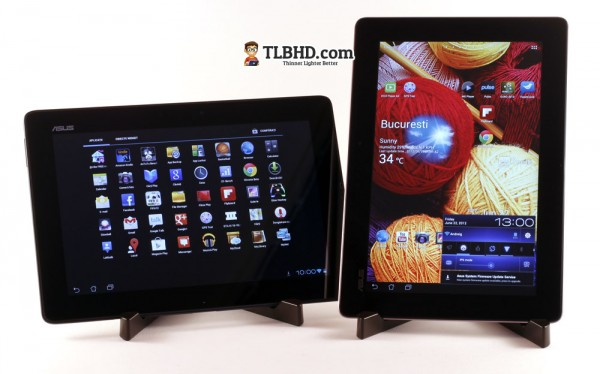 There's Android 4.0 running on both these tablets