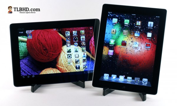 The iPad 3 is perhaps the most important competitor for the Asus Transformer Pad Infinity