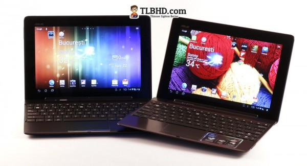 Asus offers matching docking stations for the two Transformers