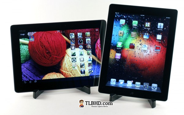 Asus Transformer Infinity vs Apple iPad 3 - best tablets of the moment, compared