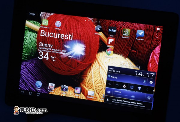 Asus Transformer Infinity TF700 - the best Android tablet of the moment