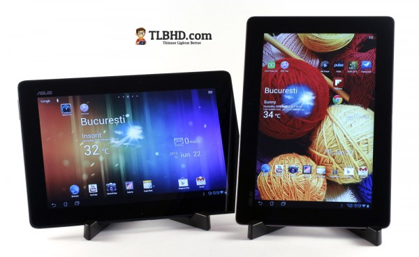 The 2012 Asus Transformers compared: TF300 vs Infinity TF700