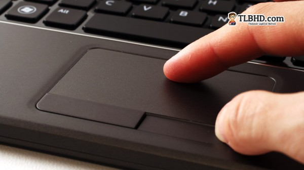 But the trackpad is excellent