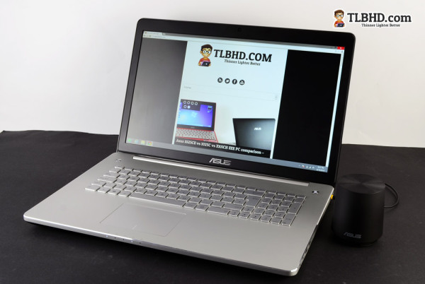 The Asus N750 is a true multimedia device, despite its lacks