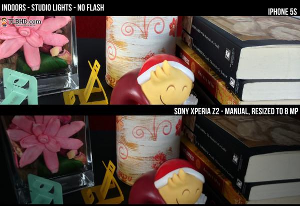 Studio Lights, Manual Mode for the Z2