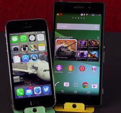 iphone5-vs-z2