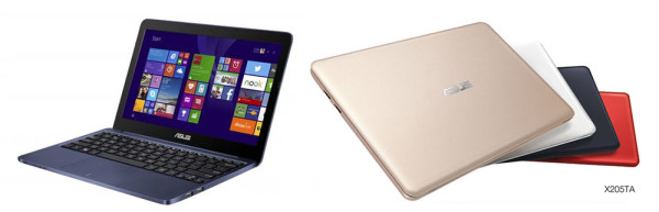The Asus EeeBook is slim and beautiful