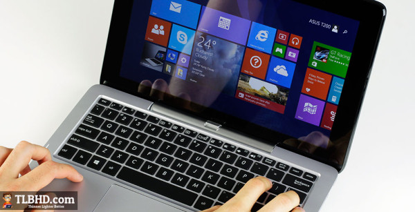 The Asus Transformer Book T200 is one of the most affordable 11.6 inch 2-in-1s available right now