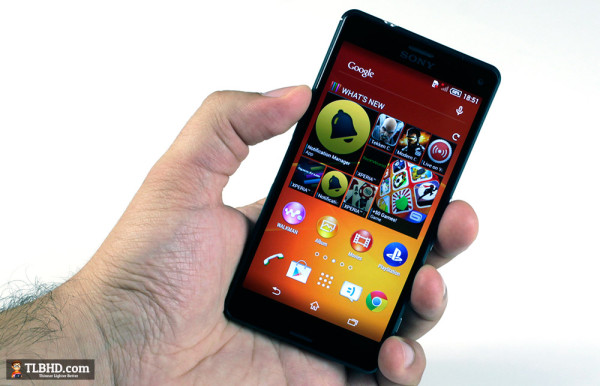 The Sony Xperia Z3 Compact is one of the few top-tier handsets that you can actually use with a single hand