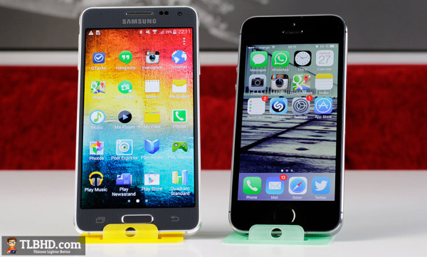 The iPhone 5S is a solid handset, but the Samsung Galaxy Alpha is one of its closest matches in Android's camp