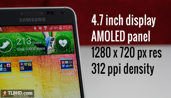 You'll like the screen, if you're fine with a lower pixel density and the over-saturated colors of AMOLED panels